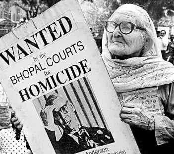 Bhopal chemical release