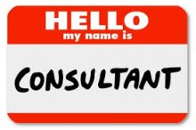 The Risk Management Consultant sticker