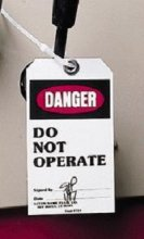 Lockout Tagout for process and energy facilities